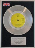 "ABBA  -  7""    Platinum Disc  -  DANCING QUEEN"